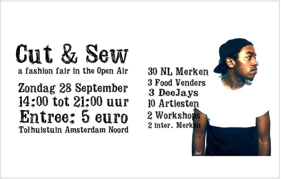Plan M voor Cut and Sew