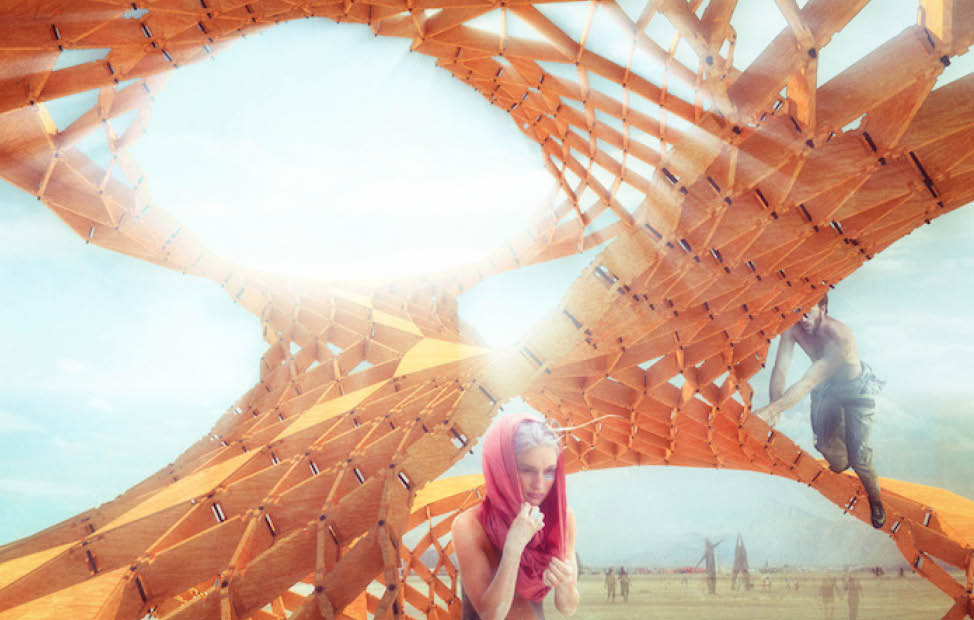 Plan M inspiratie BURNING MAN DESIGNS 2015